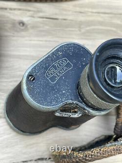 Very Rare WW1 Binoculars Carl Zeiss 6x30 Ottoman Imperial Army Fernglas Turkey