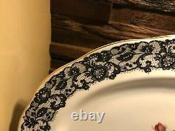 Very, Very Rare Royal Albert Senorita 15 x 11 1/2 Serving Tray