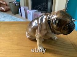 Very Very Very Rare Royal Doulton HN 948 Seated Bulldog 1930s Figure