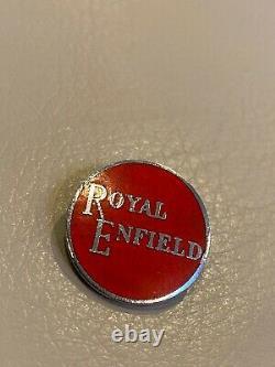 Very rare 1960s Royal Enfield Aviakit Motorcycle Enamel Badge lewis Leathers