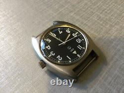 Very rare CWC W10 Royal Air Force issued 1979 mechanical watch with new strap