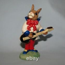 Very rare ROYAL DOULTON BUNNYKINS FIGURE DB124 ROCK AND ROLL with box and cert