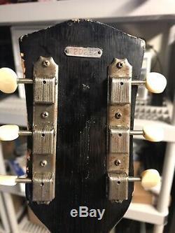 Vintage Blues Machine, Very Rare Royal Aire Guitar Valco