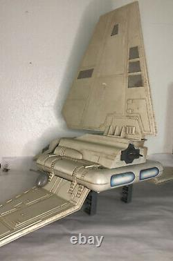 Vintage Kenner Star Wars Imperial Shuttle ROTJ 1984 Incomplete Very Rare