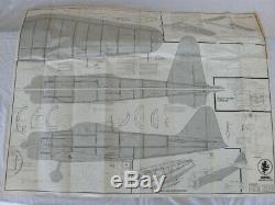 Vintage Royal Mitsubishi Zero R/c Balsa Airplane Kit Very Rare