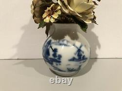 Vintage The Royal Dutch Bouquet Igor Carl Faberge 1980 Enamel Flowers VERY RARE