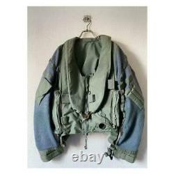 Vintage UK Royal Air Force Raf Pilot Flight Jacket Size 09 Mens L Very Rare
