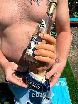 Vintage Very Rare Royal Bohemian Beer Plaster Bottle Hand Display Sign Duluth MN