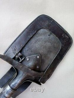 WW1 Imperial Russia ENTRENCHING TOOL & CARRIER marked 1915 year VERY RARE