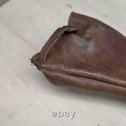 WW2 Imperial Japanese Army Gunto handle bag leather Very Rare Military Free/Ship