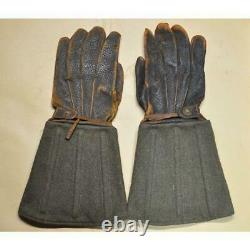 WW2 Imperial Japanese Army gloves 1945 Very Rare Military Antique Free/Ship