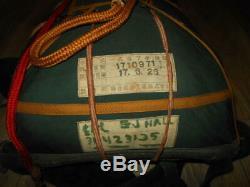 WW2 Imperial Japanese Navy SNLF MARINE PARATROOPER PARACHUTE VERY RARE