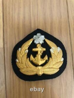 WW2 Imperial Japanese Navy sailor cap badge Very Rare Military Antique Free/Ship