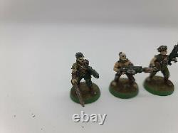 Warhammer 40k Imperial Guard Colonel Schaeffers Last Chancers VERY RARE METAL